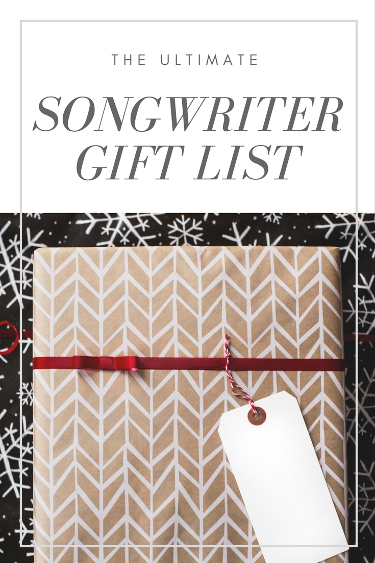 The ultimate list of hte best christmas gifts for songwriters and musicians | songwriting tips and inspiration for the contemporary songwriter | SongFancy.com