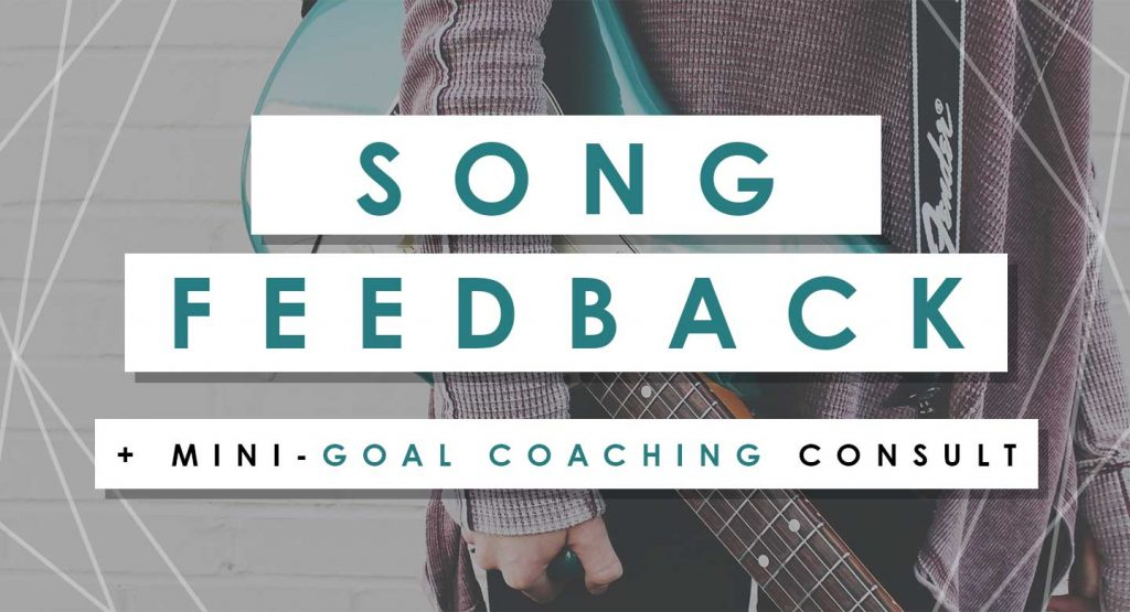 Song Feedback + Mini Goal Consults are opening soon!