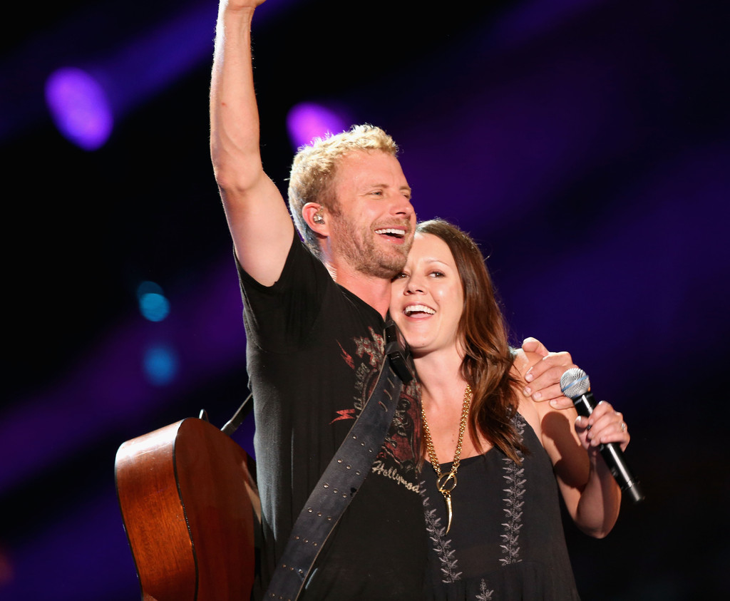 Hillary Lindsey and Dierks Bently