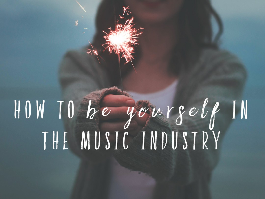How to Be Yourself in the Music Industry. Hint: You just read the answer ;) SongFancy.com