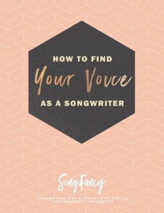 songwriting tips | how to find your voice as a songwriter
