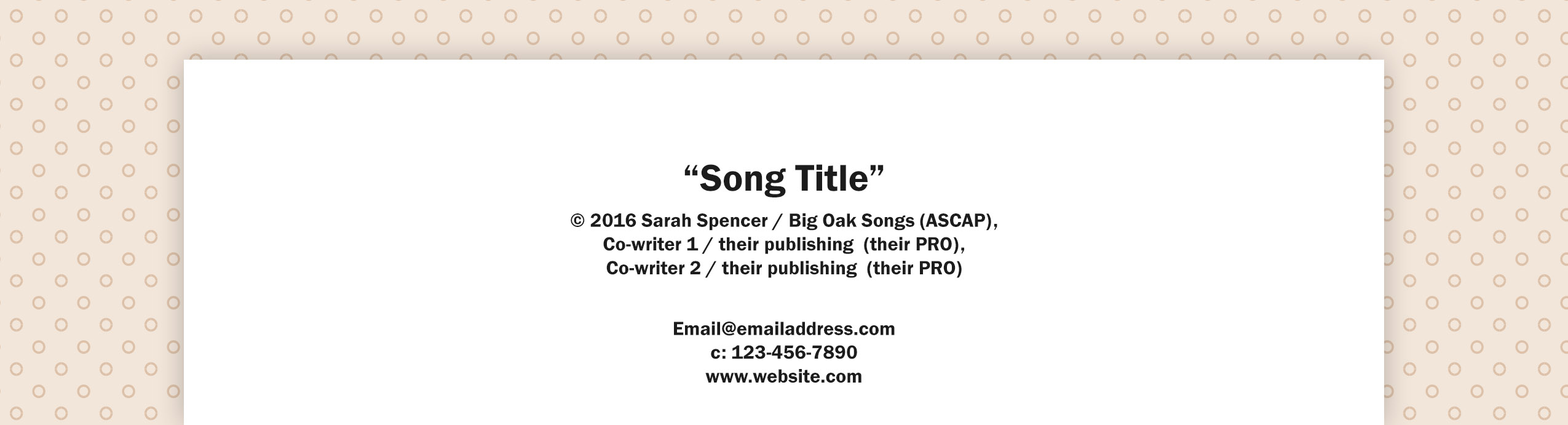 How to write title of song in essay