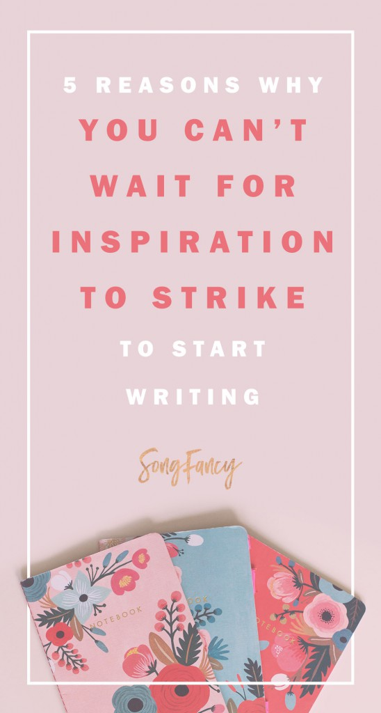 Your inspiration is out there, you just have to be open to it! Here is a little bit of songwriting inspiration for you! Songwriting tips to get you inspired to write your next best song. | SongFancy.com