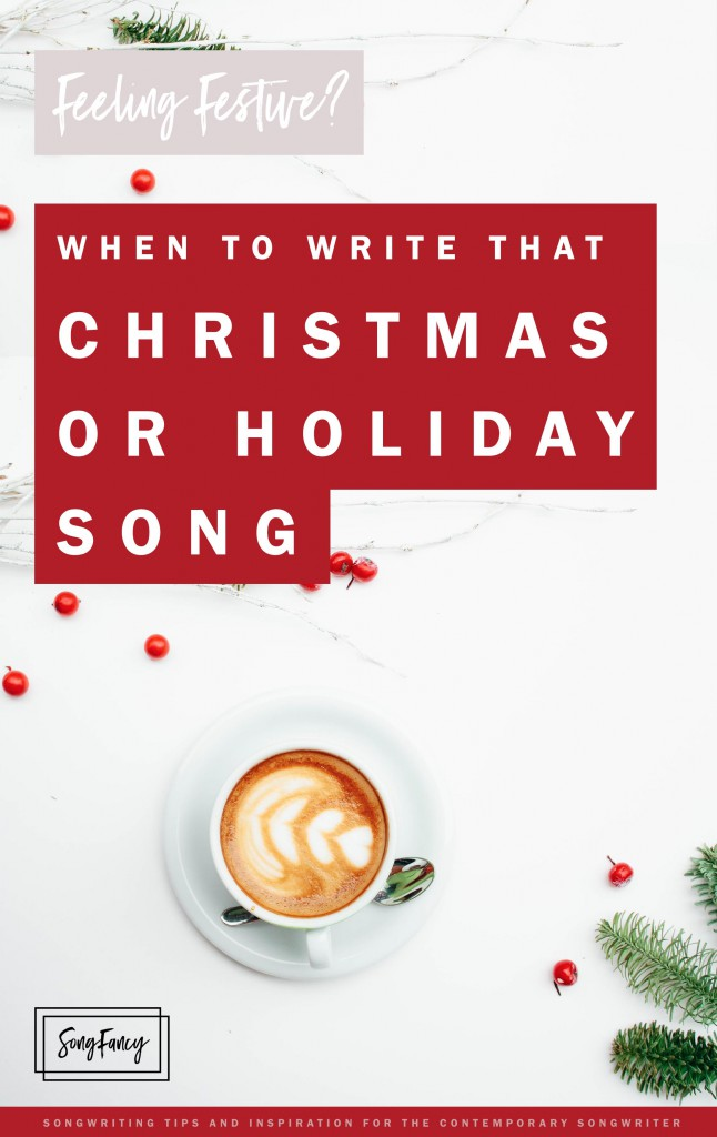 Save up those Christmas songs, they could become classics. Here's why: | SongFancy.com