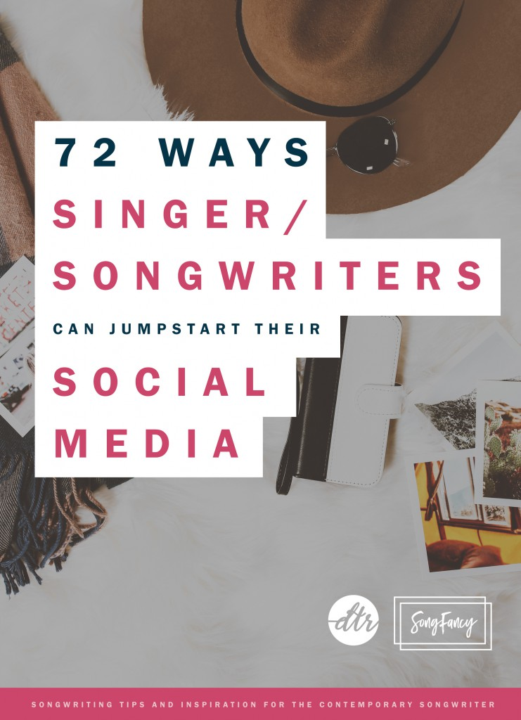 Social media can connect you to your fans. Here are 72 ways to spark your social media presence in a hurry. | SongFancy.com