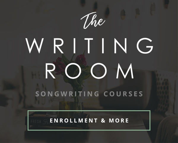 The Writing Room. SongFancy's premier collection of courses and educational material for contemporary songwriters.