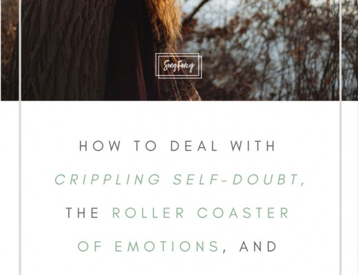Perfectionism. Comparison. Defeat. Paralyzing self-doubt. All of these things are par for the course for creatives. Here's what songwriters can do when they're at the bottom of the roller coaster. | SongFancy.com, songwriting tips and inspiration for the contemporary songwriter.