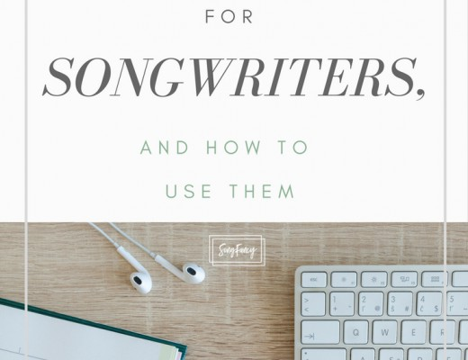 My favorite notebooks for songwriters, and how to use them. These make great Christmas gifts for the musicians and songwriters in your life! | SongFancy.com