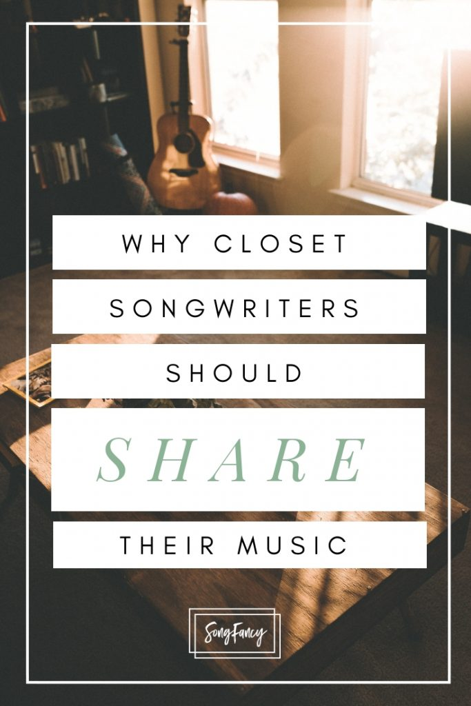 Why you should share your music | SongFancy, songwriting tips and inspiration for the contemporary lady singer songwriter