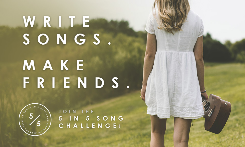 Join the 5 in 5 Song Challenge! | Presented by SongFancy.com