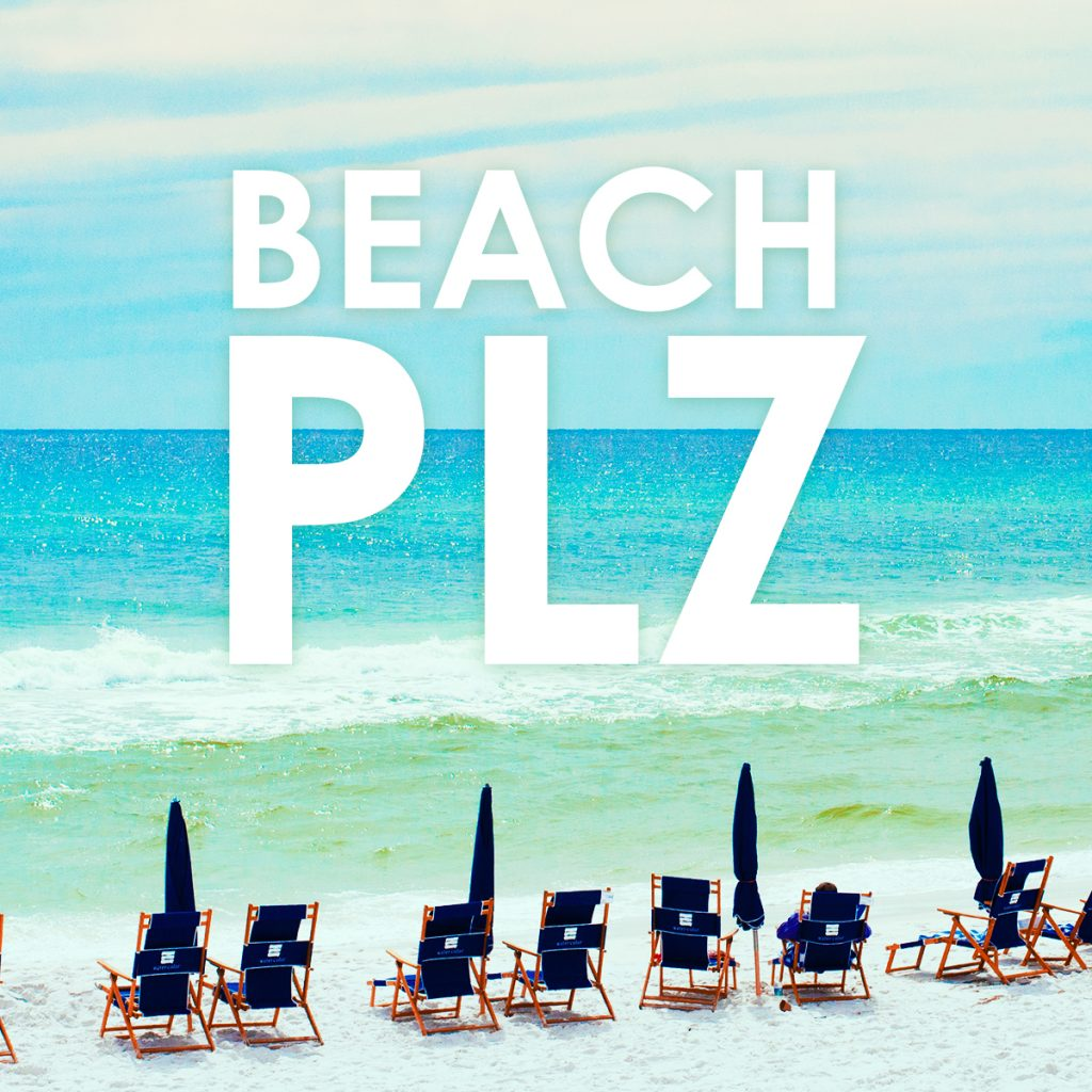Beach Plz - A playlist from SongFancy and Sarah Spencer