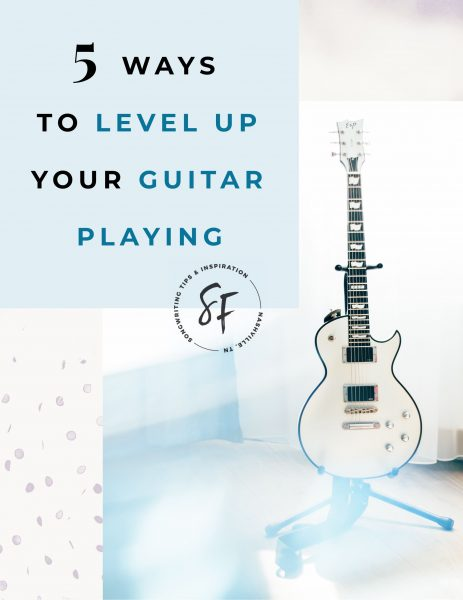 Here are 5 ways songwriters can level up their guitar playing.