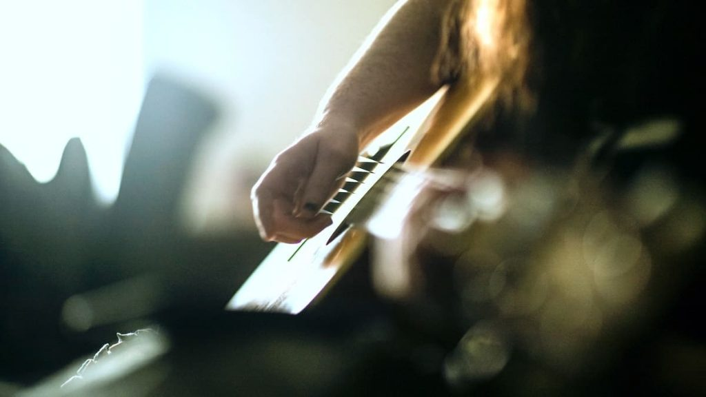 Here are 5 ways songwriters can level up their guitar playing. From SongFancy.