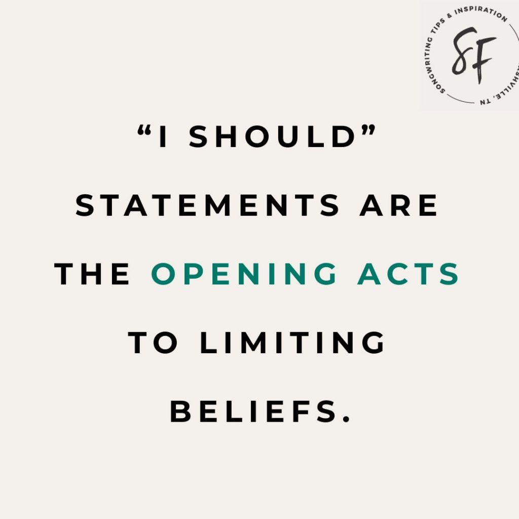 "Limiting Beliefs and ""I should"" statements"