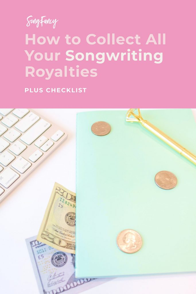 How songwriters get paid - If you're releasing songs, you can be earning money for them. Here's every royalty you can earn from your songs. Plus a free checklist to make your next release a breeze! | From SongFancy.com