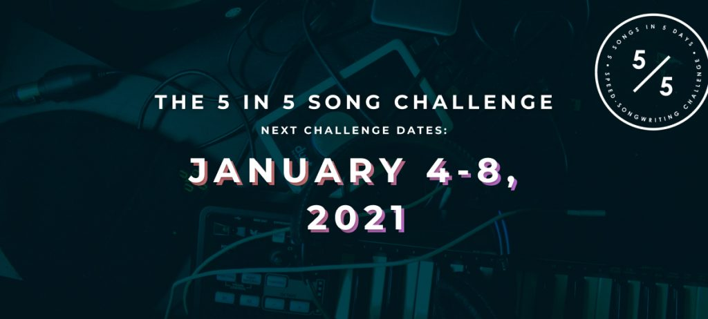 Join the January 2021 songwriting challenge that's taking over the internet