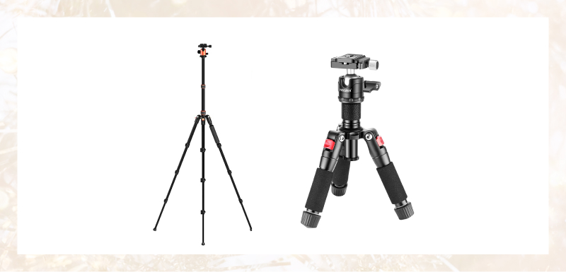 Camera tripods for streaming musicians