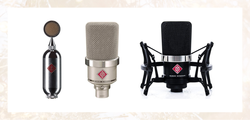 Condensor microphones for home studio recording