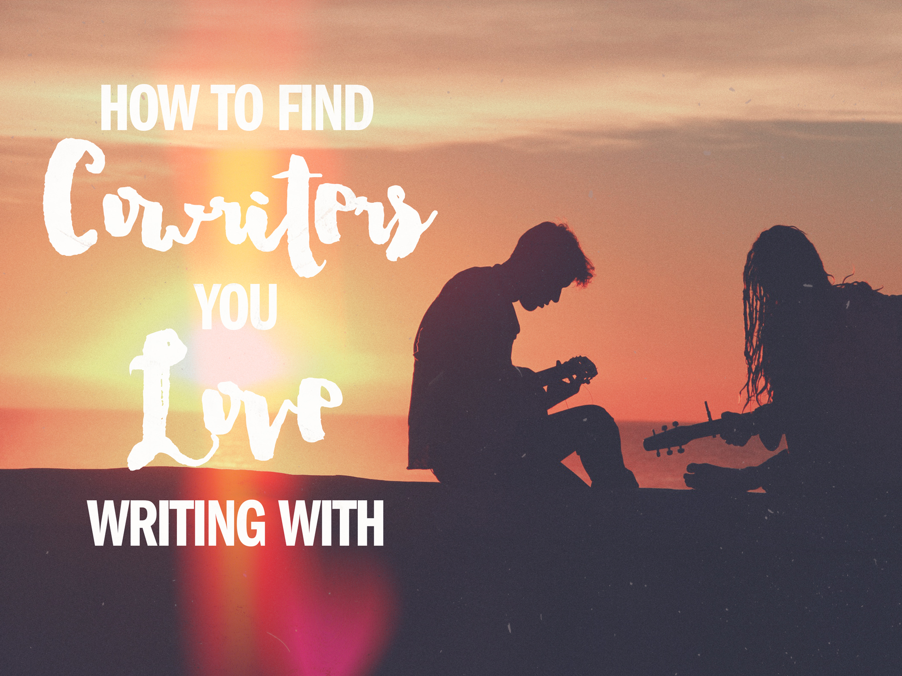 How to find the cowriters you were meant to write with. #songwriting #creativity #Nashville Songfancy.com