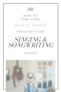 Learning who you are as a songwriter, and who you are as a singer, will shape who you are as a full artist. Learn how to figure out your singing voice and write songs that enhance it!   SongFancy, songwriting tips and inspiration for the contemporary female songwriter