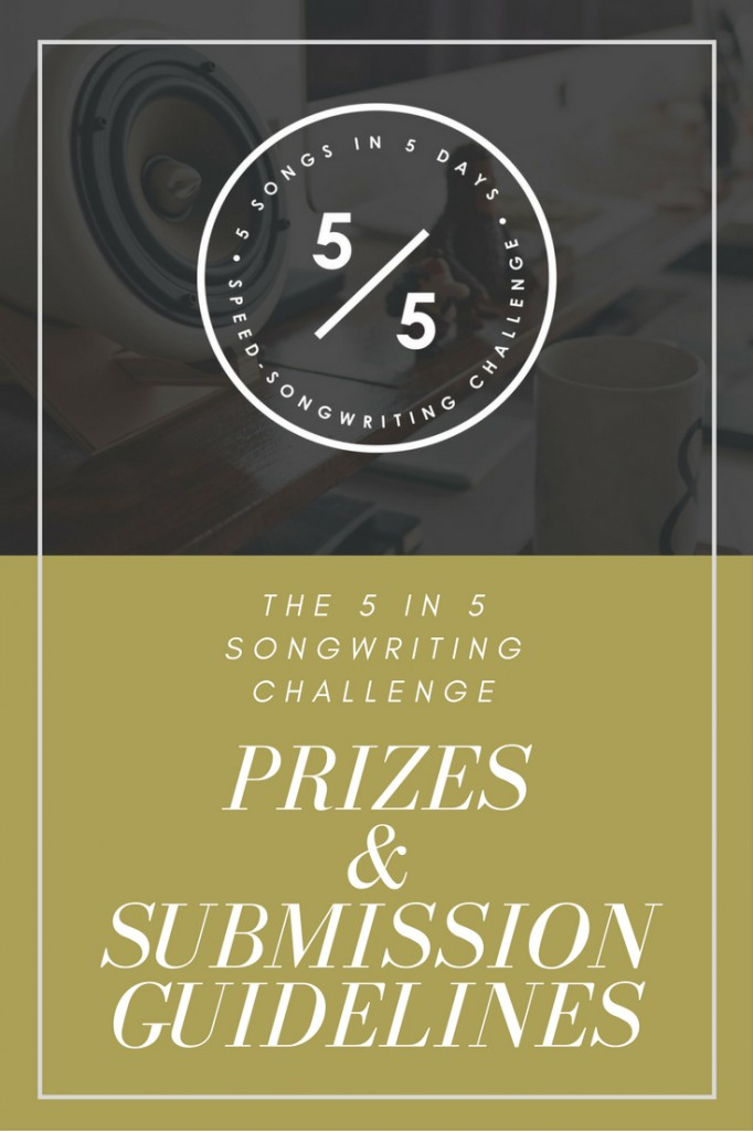 Songwriting Contest | The 5 in 5 Song Challenge, now with prizes!