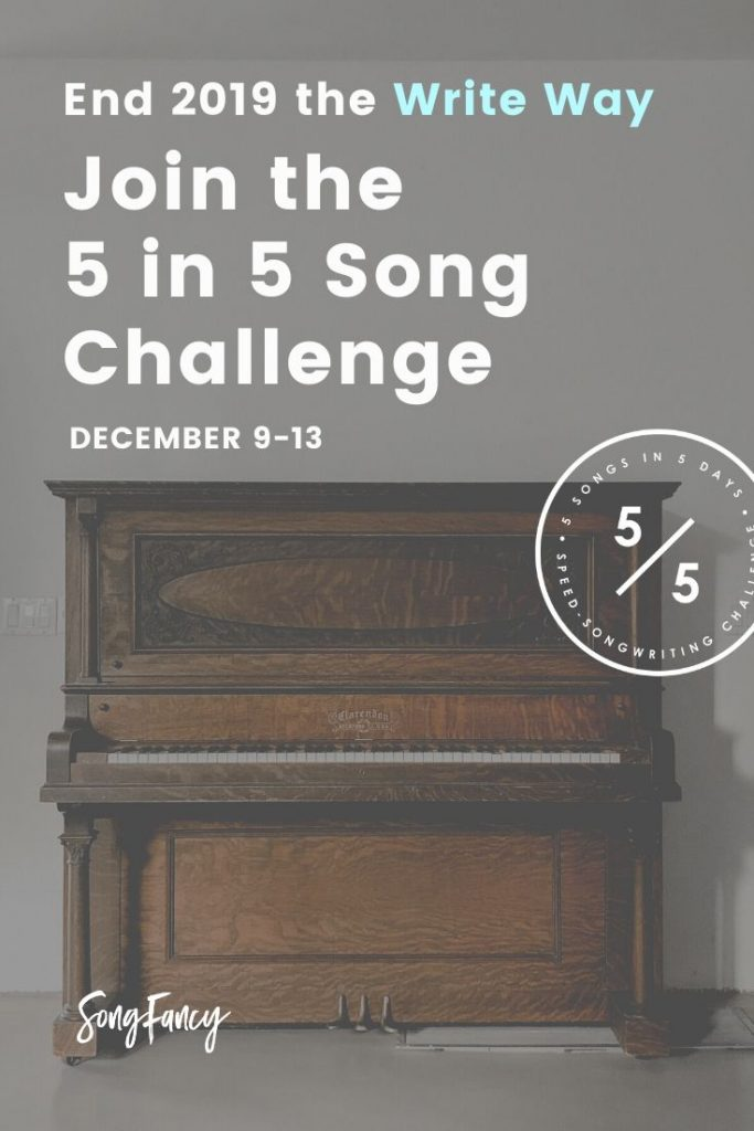 Join the December 5 in 5 Song Challenge | Presented by SongFancy