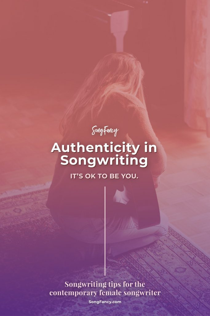 "What does it mean to be ""authentic"" and what the heck does it have to do with songwriting? Here's how to keep your authentic voice in your songs."