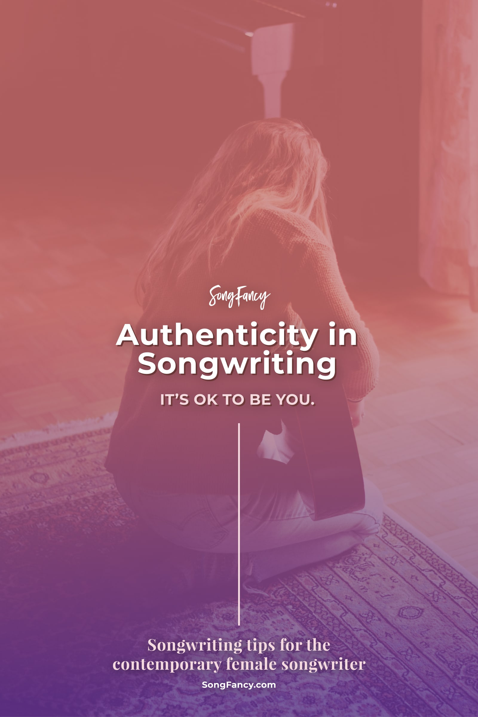 """What does it mean to be """"authentic"""" and what the heck does it have to do with songwriting? Here's how to keep your authentic voice in your songs."""