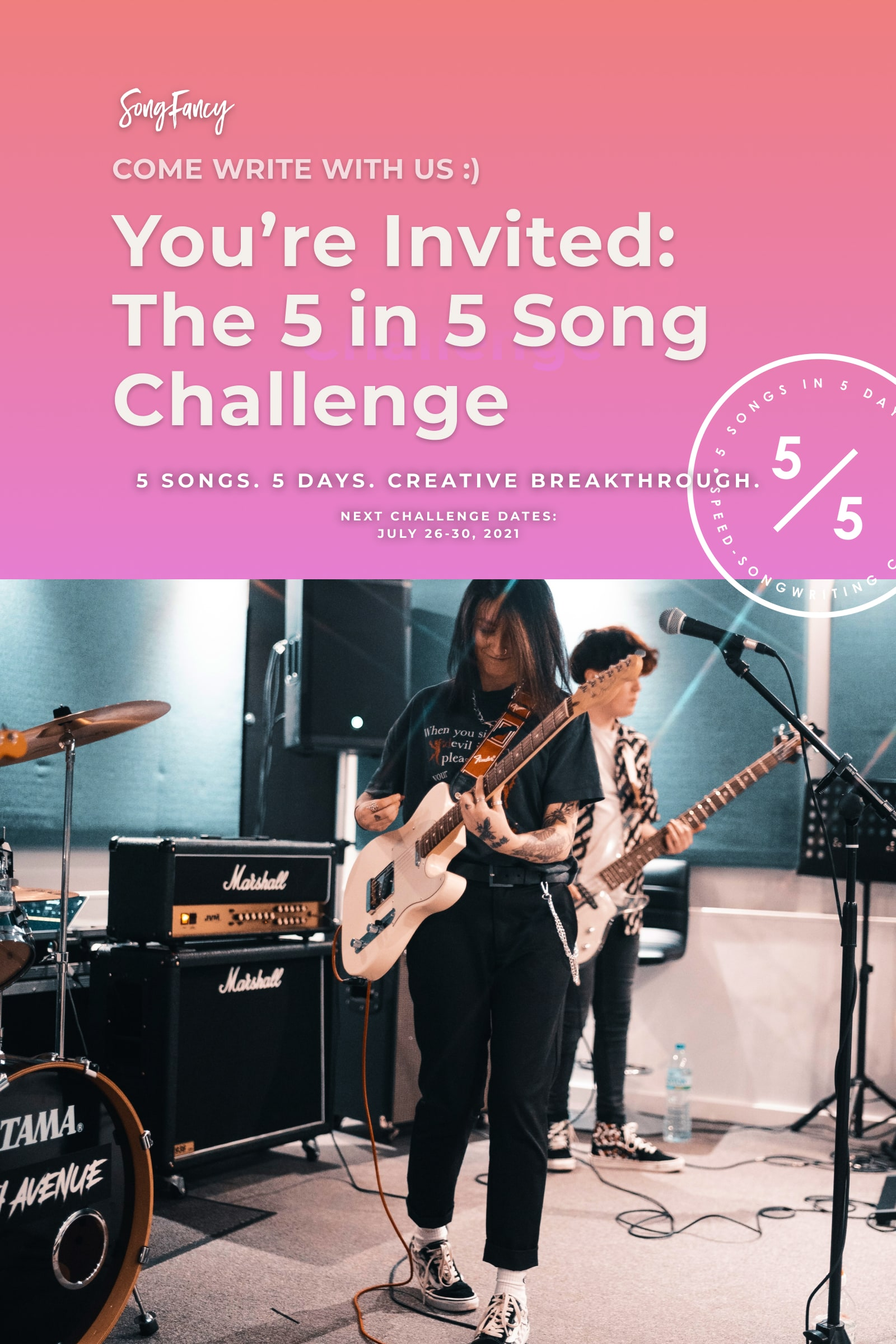 5-in-5-songwriting-challenge-july-featured